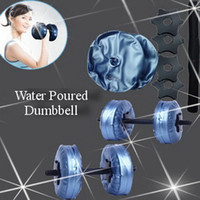 Wholesale New Product women dumbbells Water Poured Dumbbell have RoHS approved pairs