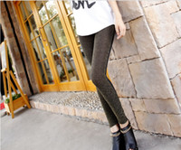 Women Skinny,Slim Other Shiny Leggings Velvet pantyhose 2 colors pants 10 pcs lot
