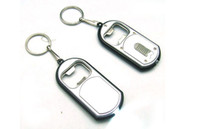 Wholesale Keylight with Bottle Opener Bar Beer with Led light key chain keychains key ring men and women