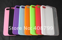 Wholesale For iphone case pc material hard case colors available with pe sample package