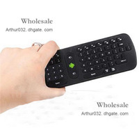 Wholesale Recommend Gyroscope Wireless Air Fly Mouse Keyboard Remote Control In RC11 GHz For Mini PC Google Android TV Palyer BOX