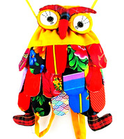 Wholesale 5pcs OWl style colorful bag owl children s bag colors optional Size cm Cute Backpack