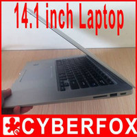 Wholesale 14 inch intel Atom D2500 Notebook PC Dual core Ghz G G Windows XP Windows7 Laptop Netbook