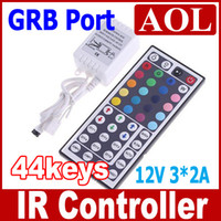 rgb led price - 2pcs keys controller V A c olors For RGB LED Strip light IR Remote Controller promotion price