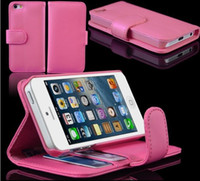 Plastic For Apple iPhone For Christmas PU Wallet Credit Card Stand Leather Case Cover Pouch for iPhone 5 5G iPhone5 free shipping