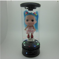 Wholesale Explosive low confused Doll Mini Speaker colorful flashing lights portable speaker speaker
