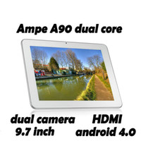 Wholesale 9 inch Ampe A90 Dual Core tablet Android Freescale i MX6D GHz GB IPS Tablet PC PB97