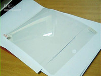Wholesale Clear Screen Guard Protector Ward Film for Ipad ipad3 Ipad2 Tablet PC Retail Package Hot