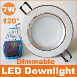 Wholesale 7W Dimmable led downlight recessed led lamps with driver AC110V V led lighting CE RoHS SAA