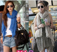 Wholesale Women s Plain Color Printing Soft Shawl Wrap Scarf Scarves Colors Available