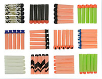 Wholesale Freeshipping Nerf darts tag refill pack n strike soft bullets suction blaster
