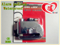 Wholesale MOTORCYCLE Motorbike Disc Lock ALARM Chrome