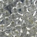 Circle Glass  MIC 1pounds Jewelry making DIY 2mm Clear Color Glass Seed Beads 102562