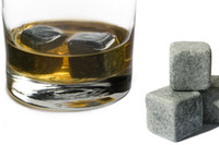 Wholesale Free by DHL Whisky stone set sets wine whiskey rock sipping stones Christmas
