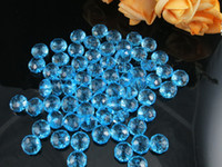Wholesale 500pcs Colorful acrylic beads Plastic Transparent Faceted Rondelle Beads