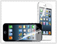 Wholesale For iPhone Clear Transparent Screen Protector Screen Guard Front And Back Perfect Fit