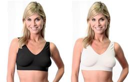 Wholesale 200pcs Health care seamless bust lose weight fats sports yoga vest bra Microfiber Underwear bras