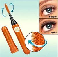Wholesale High quality Electric Eyelash Curler Electric degree Rotating Mascara Brush Eyelash brush with retail packaging