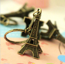Wholesale Metal Keychain France Eiffel Tower keychain DHL