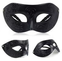 Wholesale High quality mask halloween Vintage Roman Gladiator Men s Venetian Mask Carnival Mask