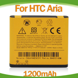 Wholesale 1200mah BB92100 High Quality battery for HTC HD Mini T5555 Gartia Aria A6366 A6380 A9191