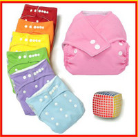Diaper Covers 3-9 Months Free size Baby button Diapers Baby Cloth Diapers Baby Diapering free size 7colors