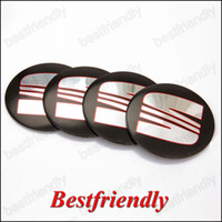 Wholesale Seat Logo Aluminum Alloy Car Emblem Wheel Center Cover Caps Cap Sticker Badge Badges Emblems