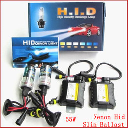Wholesale Xenon Hid Kit Slim Ballast W H1 H3 H4 H7 H8 H9 H11 k k k k k