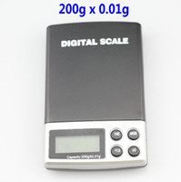 Wholesale 200g x g DIGITAL Scales Gram pocket Balance Weighing Scale A06 blue backlight kare