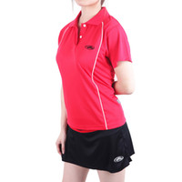 Wholesale New leisure badminton table tennis garment absorb sweat permeability movement T shirt