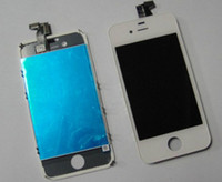 Wholesale Front Assembly LCD Display Digitizer Touch Screen Replacement Part for iphone S Black White