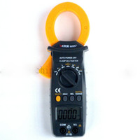 Wholesale AC and DC clamp meter VC6056C AC and DC A capacitance frequency temperature new listed