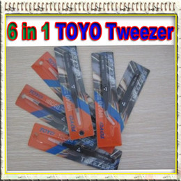 Wholesale TOYO BGA Tweezer Antistatic Tweezers ONE Set For Repair Use