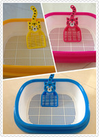 Deodorizers & Colognes cat litter - crystal cat litter tray and scoop double layer two colors