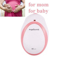 Wholesale 2012 New porket baby fetal doppler Prenatal Heart Monitor V dry battery