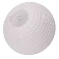 Wholesale 12Inches Paper Lantern Wedding amp Party Decorative New White Ship From USA J03534