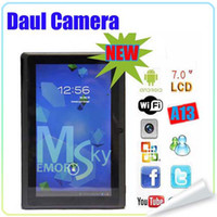Wholesale Tablet pc New A13 inch Andriod Support Flash Capacitive MB GB Ghz Dual Camera
