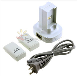 Wholesale Hot SALE NEW Dual Charger Dock Batteries For Xbox Controller Freeshipping