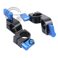 Wholesale 2 Cross degree rod clamp block Mount for DSLR mm Rig rail support system kit