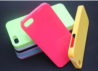 Iphone5 5G 5th TPU Monochrome Candy Color 2012 Low Price 100...