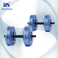 Wholesale DHL kg dumbbell set Water Poured Dumbbell have RoHS approved pairs
