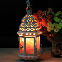 Wholesale night light table lamp retro light crystal salt lamp lantern