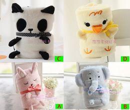 Wholesale Animal Baby Blanket Zoo Children Push Toys Blankets elephant Panda blanket Size cm pc
