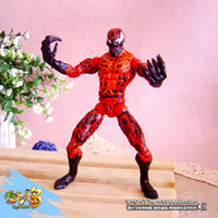 Wholesale NEW American comic hero movie Figures CARNAGE SPIDER MAN Genuine children toys