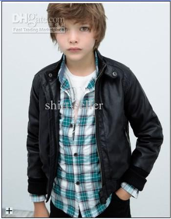 Black Leather Jackets For Boys Kids interstate leather