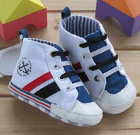 baby jean - baby Boy Jean style toddler shoes infant first walker shoes new born footwear M T7112