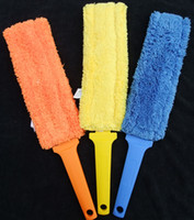 Wholesale 23x8cm Multi function Super microfiber dusting Cleaning duster Radiator Duster flectional