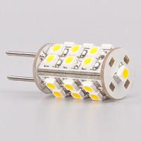 Wholesale Free Shipment G4 Led Light led SMD VDC VAC VAC Bi pins White CamperCar Ship Bulb Lamp