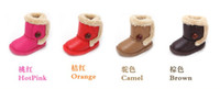 Wholesale winter boots children snow warm cotton snow children s shoes color pair