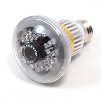 Wholesale Patented Design EazzyDV BC E27 Lamp design Bulb TF card leds CCTV Security DVR Camera